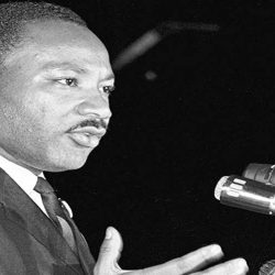 "Martin Luther King, Jr.'s famous ""I Have A Dream speech"""