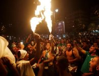 Algerian fans celebrate 2nd AFCON win as police clash with Paris fans