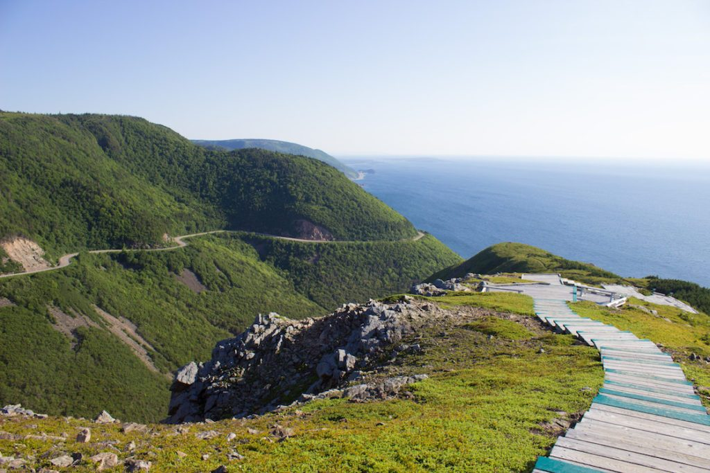 Skyline Trail: Nova Scotial's Cabot Trail.