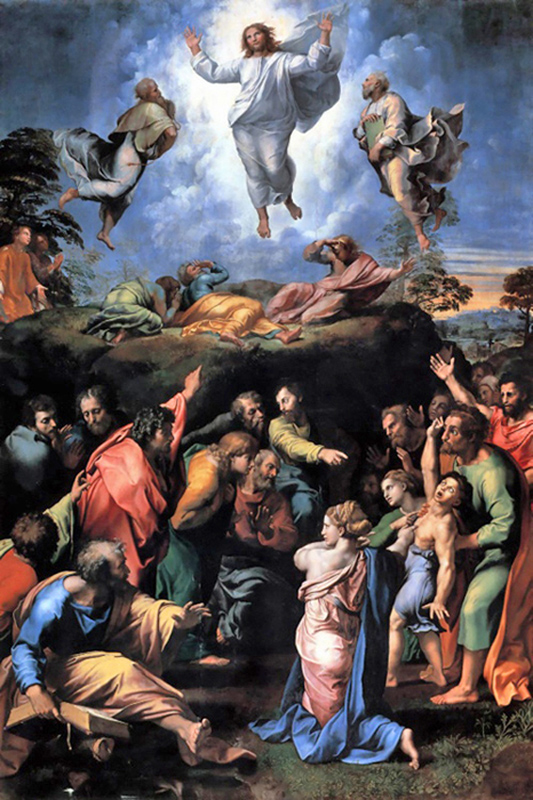 The Transfiguration of Jesus.