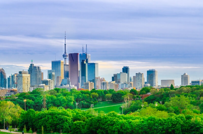 Outdoor activities to do in Toronto.