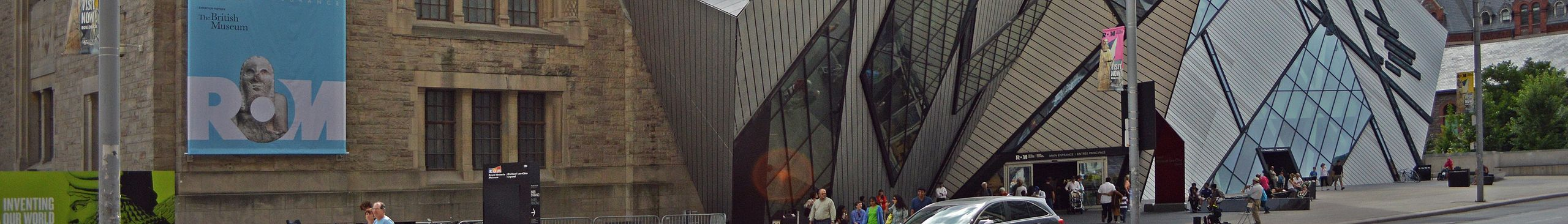 Royal Ontario Museum in the Yorkville & the Annex (WikiVoyage).