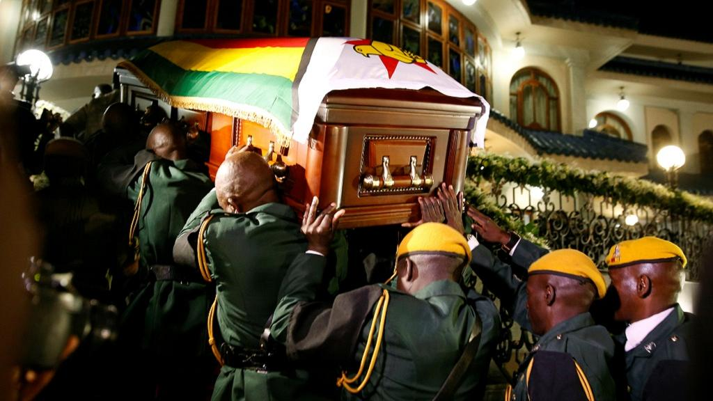Zimbabwe's founding president Roberty Mugabe will be buried on on Sunday, September 15, 2019.