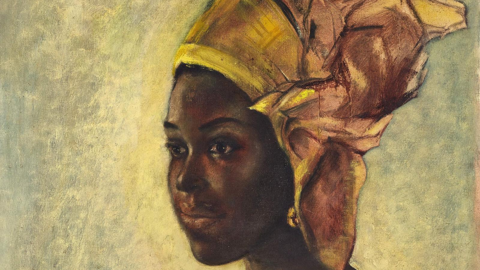 Ben Enwonwu painting sold for $1.4 million at an auction.