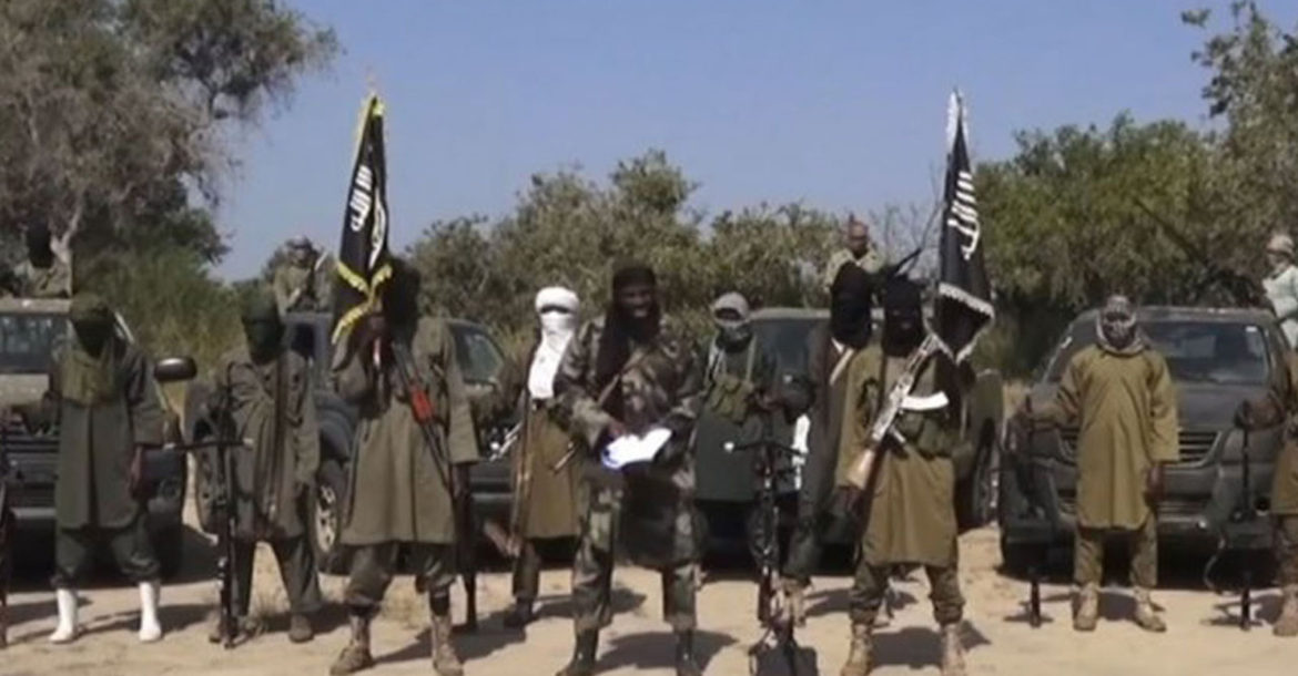 Boko Haram fighters in Nigeria in a video produced by the group. (Image by AFP)