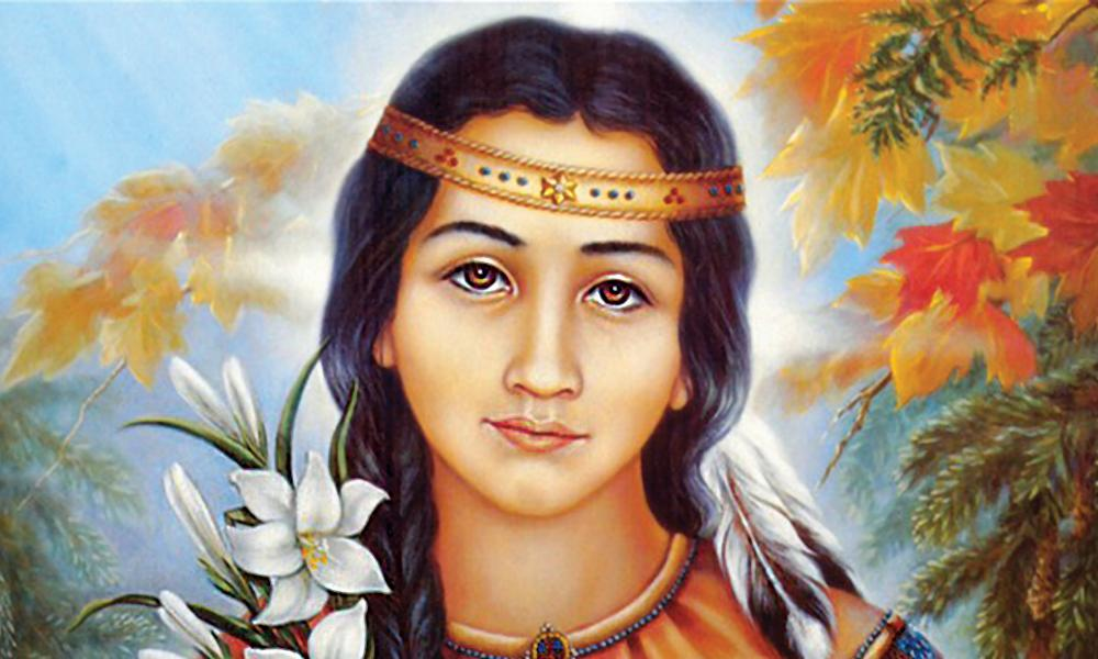Lily of the Mohawks, Saint Kateri Tekakwitha