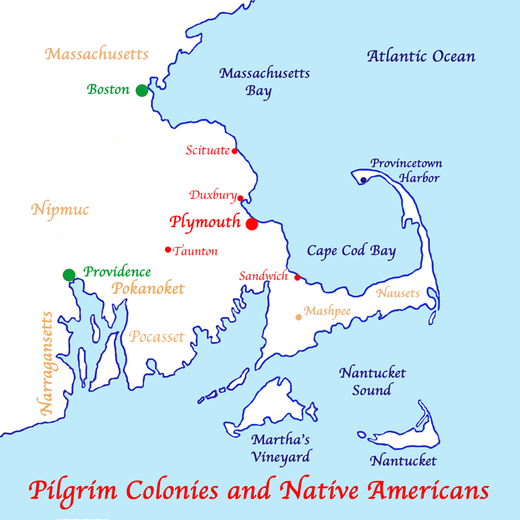 Pilgrim Colonies and Native Americans