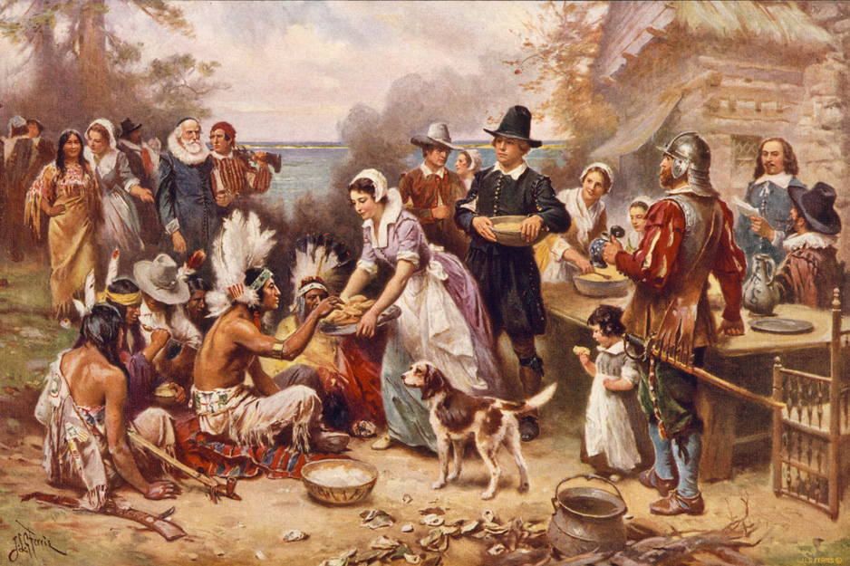 The Pilgrims of Plymouth Colony, Massachusetts