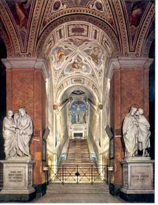 The Scala Sancta (English: Holy Stairs)