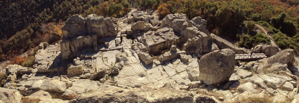 The ruins of the ancient city of Perperikon