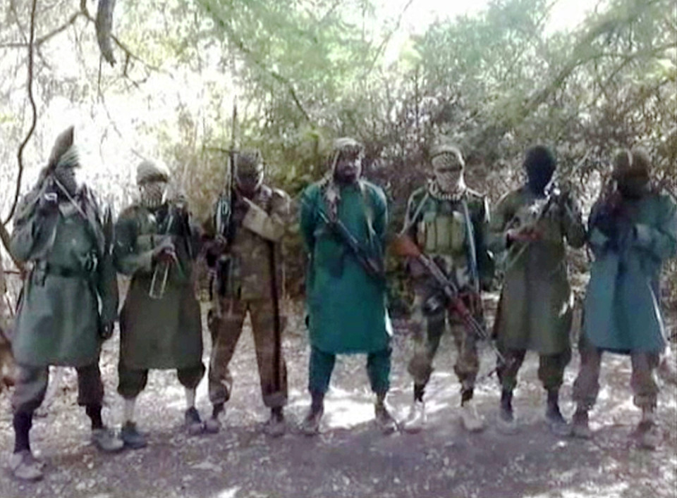Members of ISIS group Boko Haram in NigeriaCredit (Image, Handout Getty)