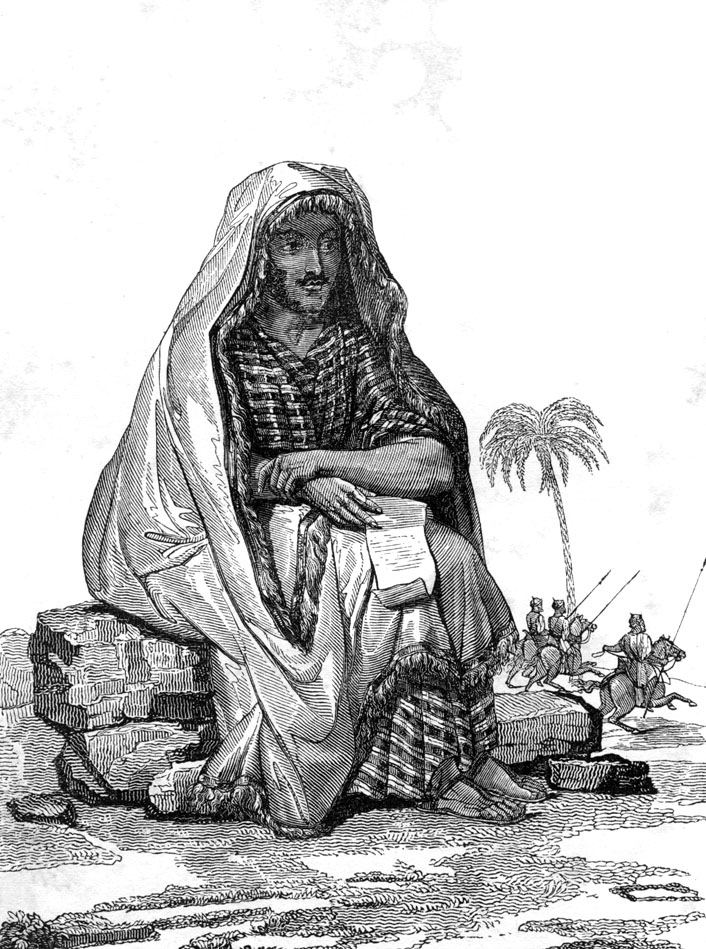 Rene Caillie in arab clothing 1830