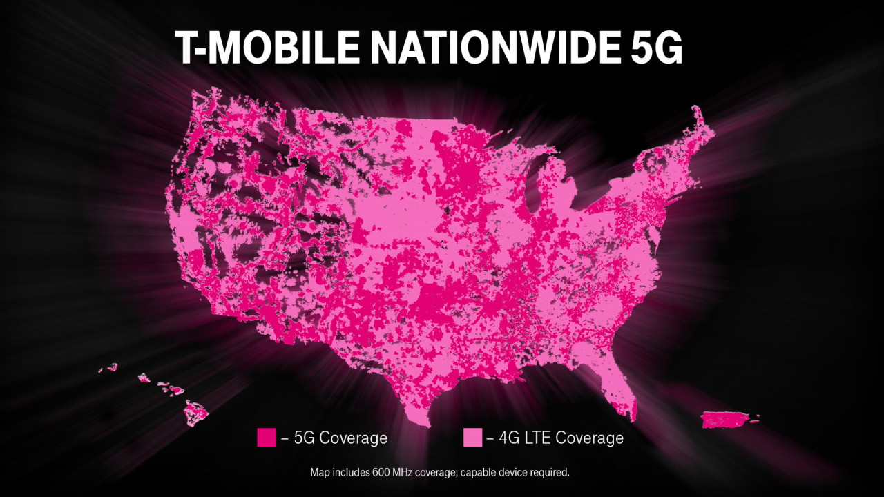 T-Mobile Launches 5G for 200 Million Americans (Image T-Mobile)