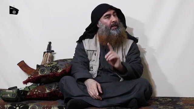 The late terror chief al-Baghdadi, who was killed by US forces in October 2019 (Image AFP)
