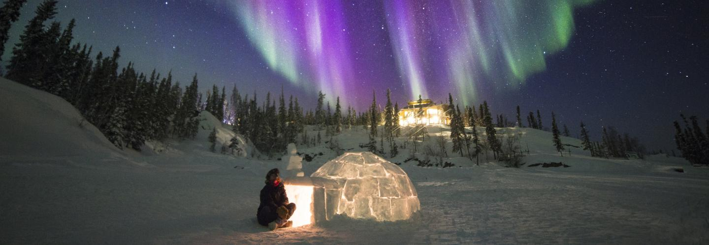 Blachford Lake Lodge in the Northwest Territories. (image Blachford Lake Lodge-Martina Gebrovska)