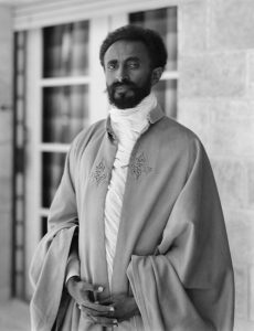 Haile Selassie, the Emperor of Ethiopia between 1930 and 1974. He is of central importance to Rastas, many of whom regard him as the Second Coming of Jesus and thus God incarnate in human form.