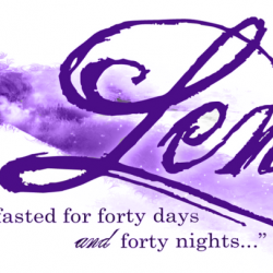 Lent Begins on Wednesday, February 26, 2020