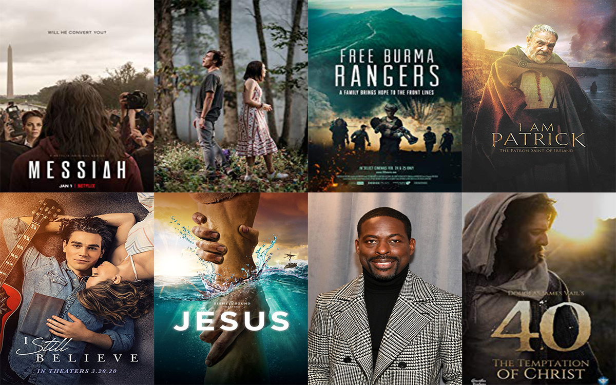 Selected Christian Movies/TV Series to Watch Out for in 2020