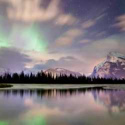 Vermillion Lakes in Alberta's National Park. (Image Travel Alberta)