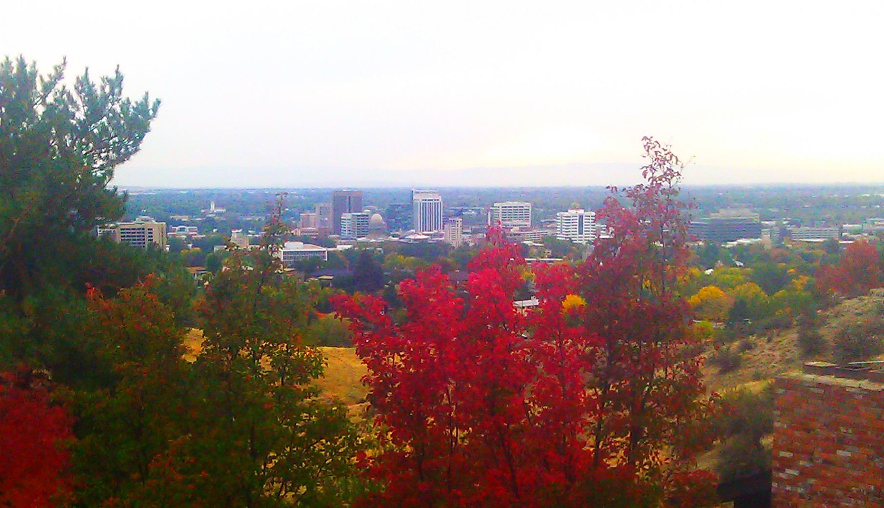 Foothills view of Boise, (Image WikiCommons in Fall 2013)