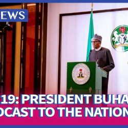 Buhari's first Coronavirus (COVID-19) address