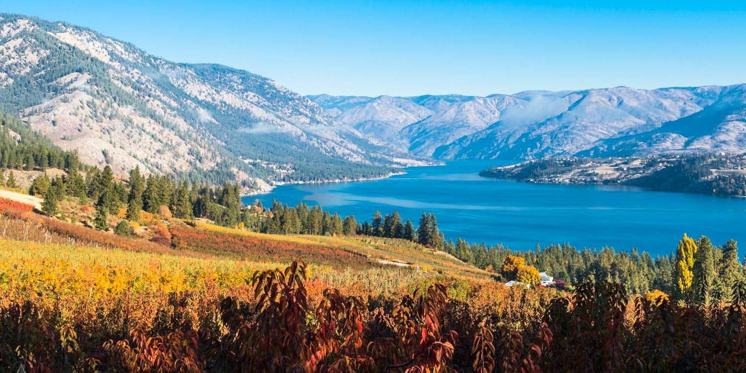 Lake Chelan is simply spectacular