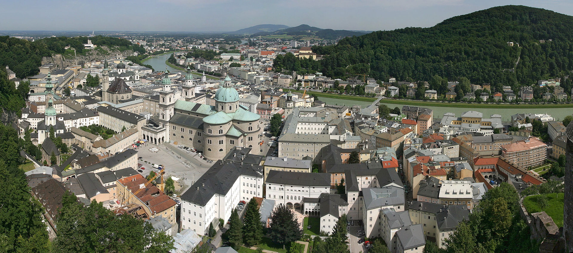 Salzburg (Image by David Iliff/License/CC by SA 3.0/WikiCommons)