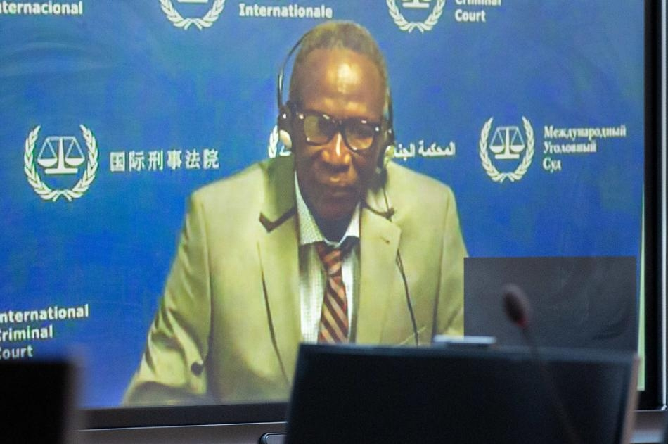 Ali Kushayb, 70, also known as Ali Abd-Al-Rahman, appeared via video conference Monday at the International Criminal Court in The Hague. (Image, International Criminal Court Flickr)