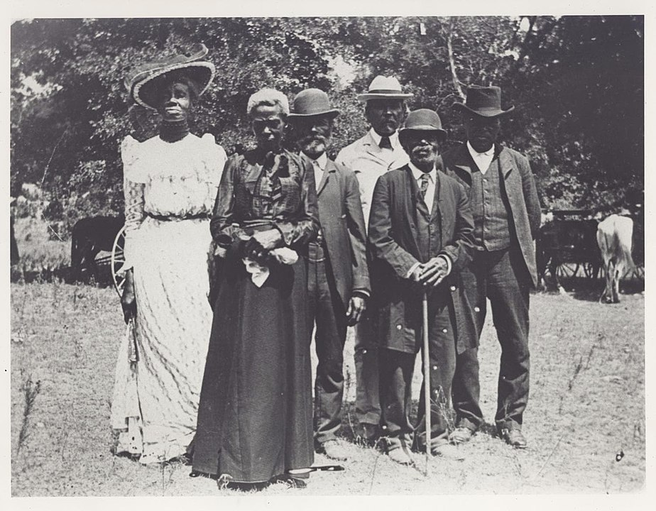 An early celebration of Emancipation Day (Juneteenth) in 1900 (Austin History Center, Austin Public Library)