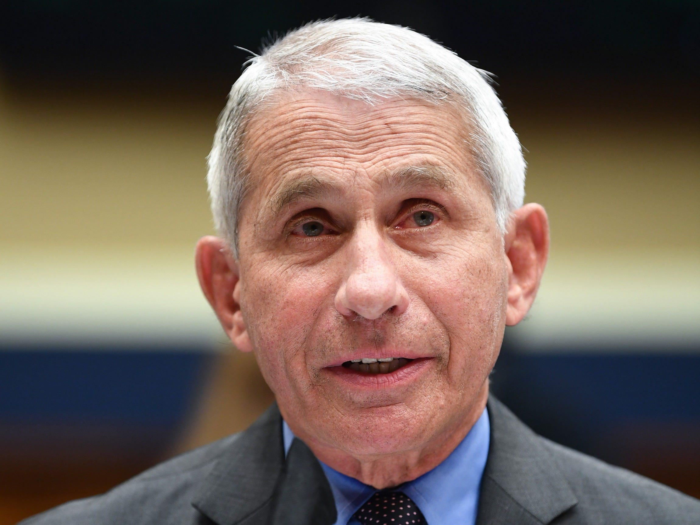 "Dr. Anthony Fauci, Director of the National Institute for Allergy and Infectious Diseases, testifies before the US Senate Health, Education, Labor, and Pensions Committee hearing to examine COVID-19, ""focusing on lessons learned to prepare for the next pandemic"", on Capitol Hill in Washington, DC on June 23, 2020. (Image by Kevin Dietsch/AFP via Getty Images)"