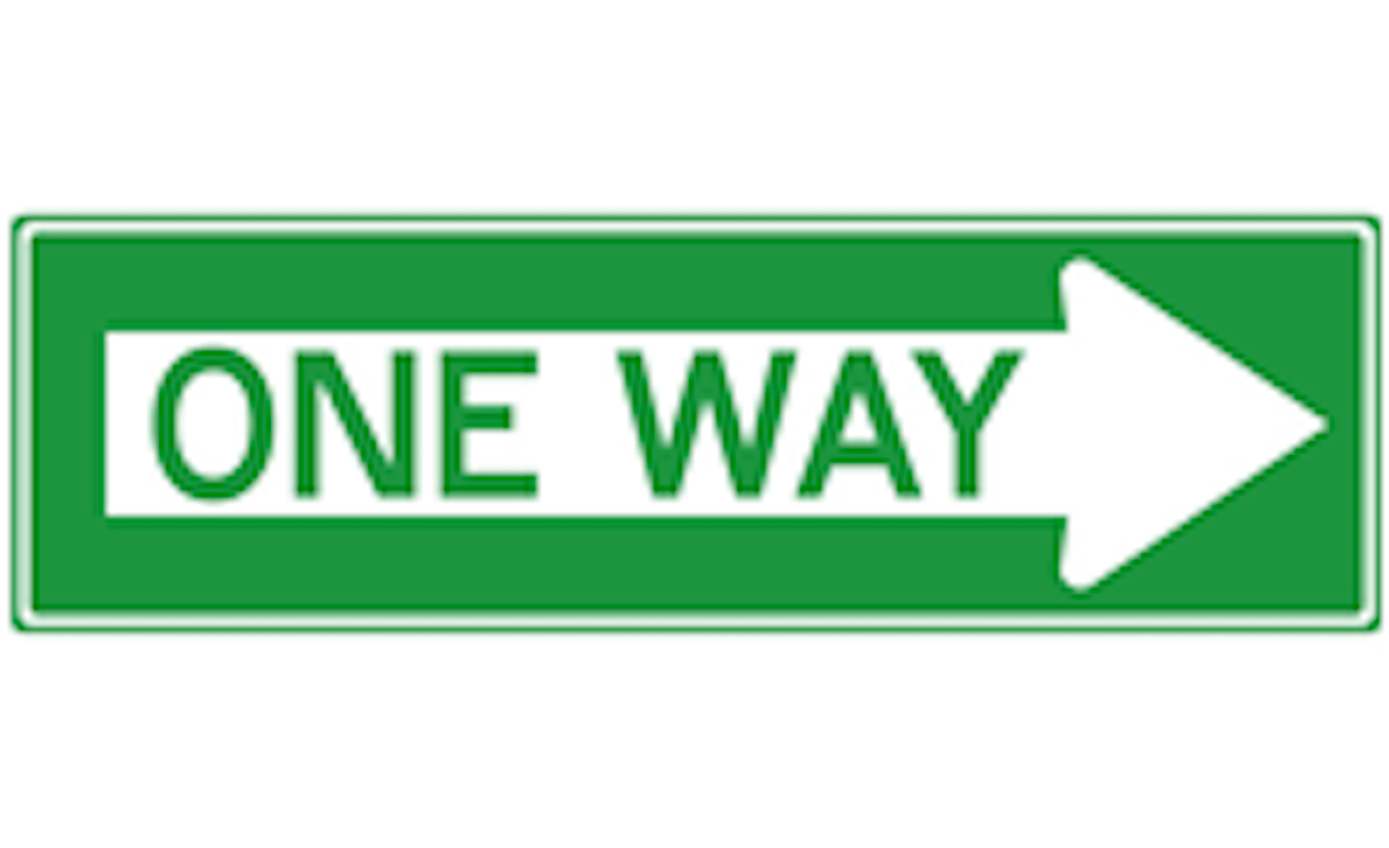 Only One Way?