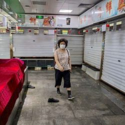 The latest coronavirus outbreak in China is thought to have emerged from a wholesale food market. (Image by AFP)