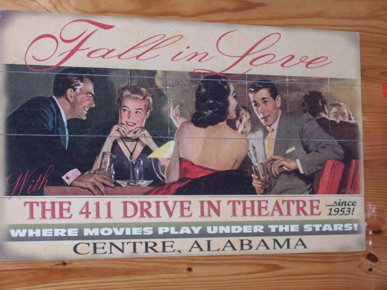 411 Twin Drive-in Theater and Grill, 300 County Road 265, Centre, AL 35960