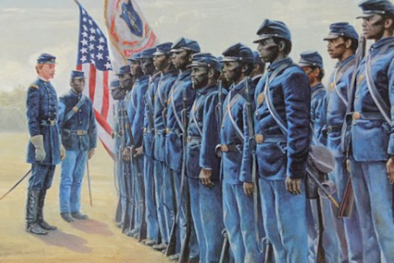Before it was accepted by the country, Robert Gould Shaw was pushed to command the 54th Massachusetts regiment of all African-American soldiers, paving the way to equality