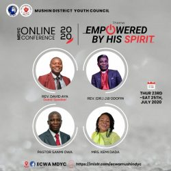 ECWA's First-ever online Conference at Mushin DYC July 23-25, 2020