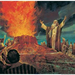 Elijah Contends Against The Priests Of Baal