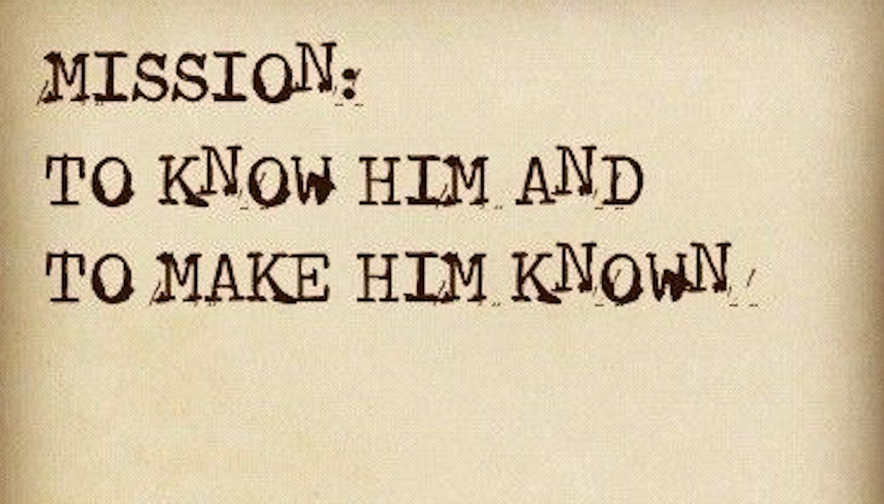 Here is Your Real Mission (Typeset by Nancy Dawson)
