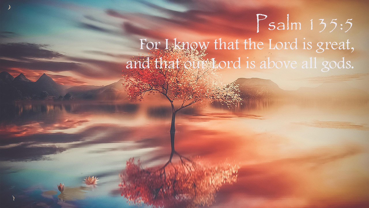 The Lord is Great! Thursday, October 8, 2020 Daily Devotion