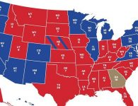 2020 Electoral Map by State